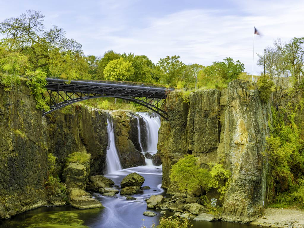 Paterson Great Falls in New Jersey