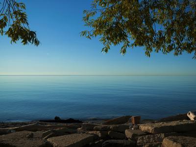 Fishing in Lake Ontario