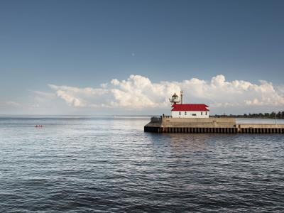 Fishing in Lake Superior