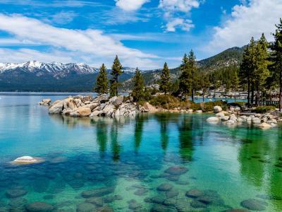 Fishing in Lake Tahoe