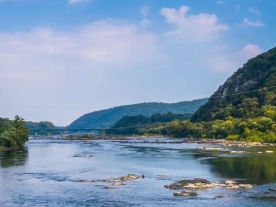 Fishing in Potomac River