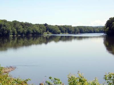 Fishing in Susquehanna River