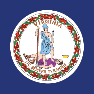 State flag of Virginia
