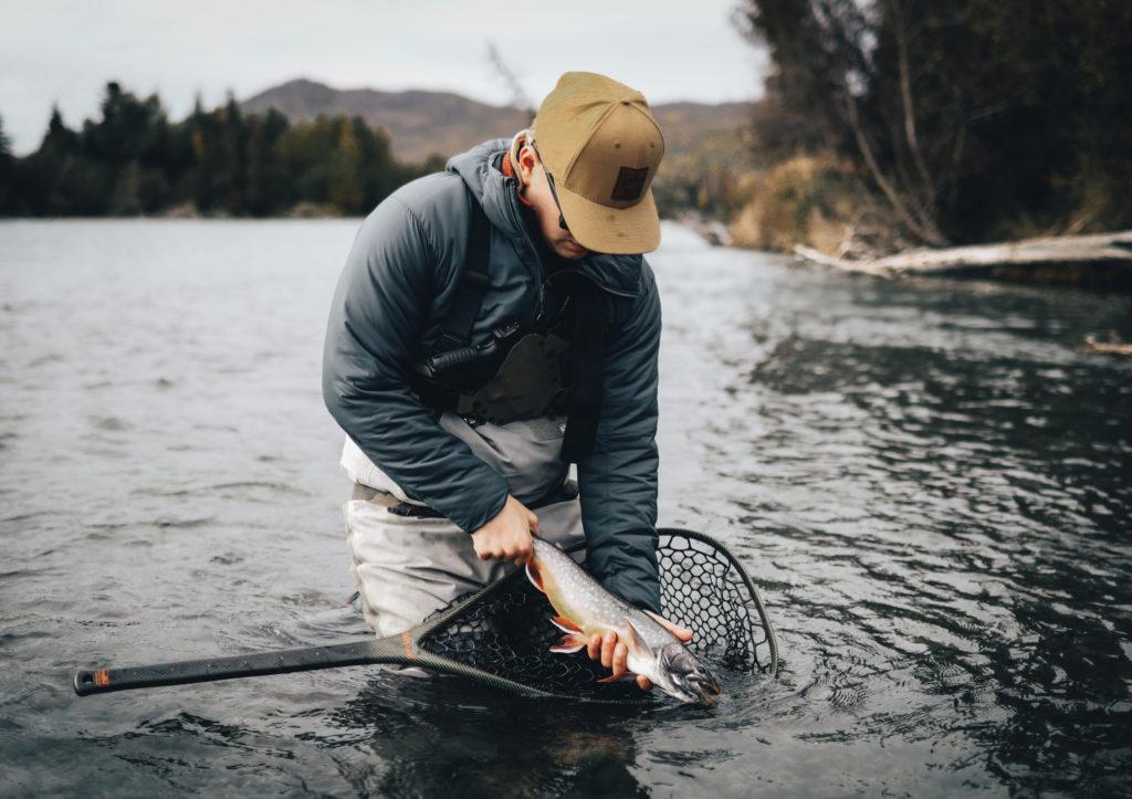 Dolly Varden caught by an angler in Alaska