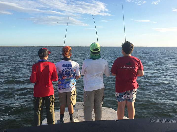 How technology boosts charter fishing in corpus christi for Corpus christi fishing guides