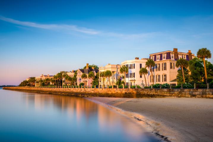 Charleston waterside houses