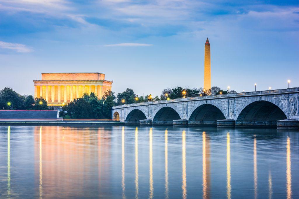 a bridge in Washington DC