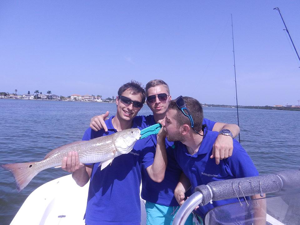 Tampa bay fishing report shark and redfish magic with for Fishing report tampa bay