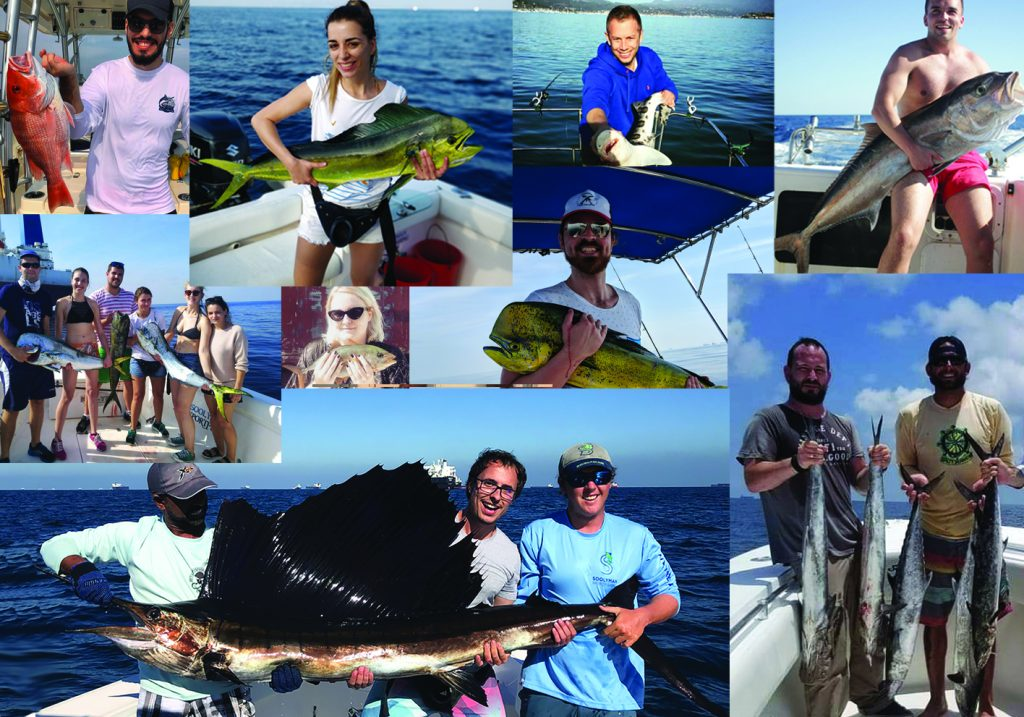 FishingBooker staff with their top catches