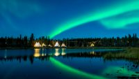 Aurora Borealis over Great Slave Lake