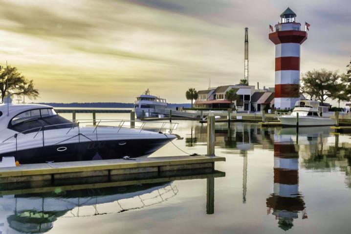 Hilton Head marina