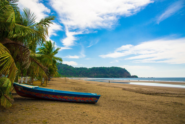 the beach in Jaco