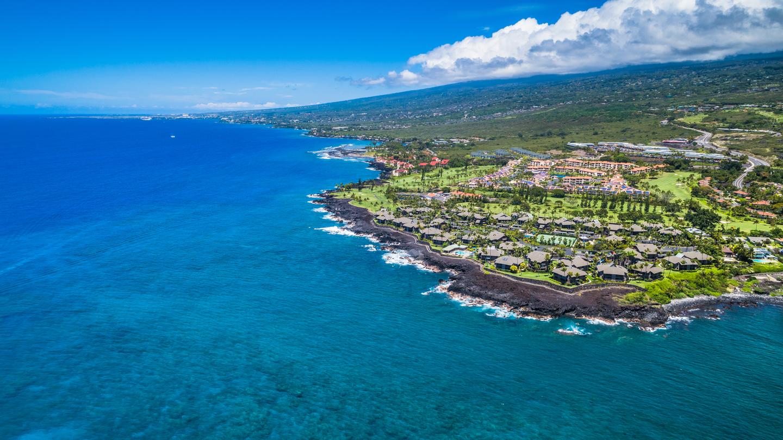 Kailua-Kona from above