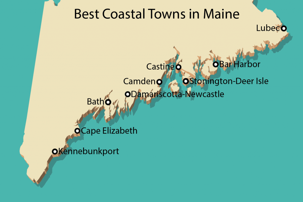 9 Best Coastal Towns In Maine A Route 1 Road Trip