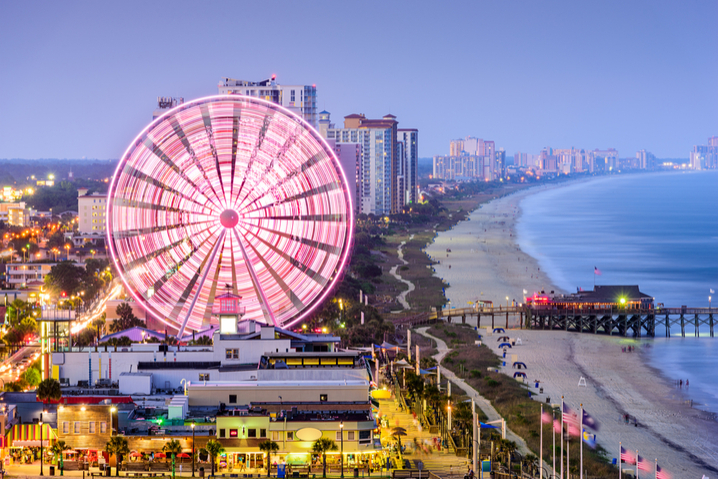 a look at the Myrtle Beach SkyWheel