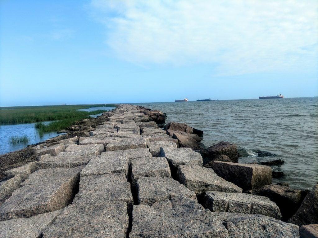 North Jetty Bolivar Peninsula