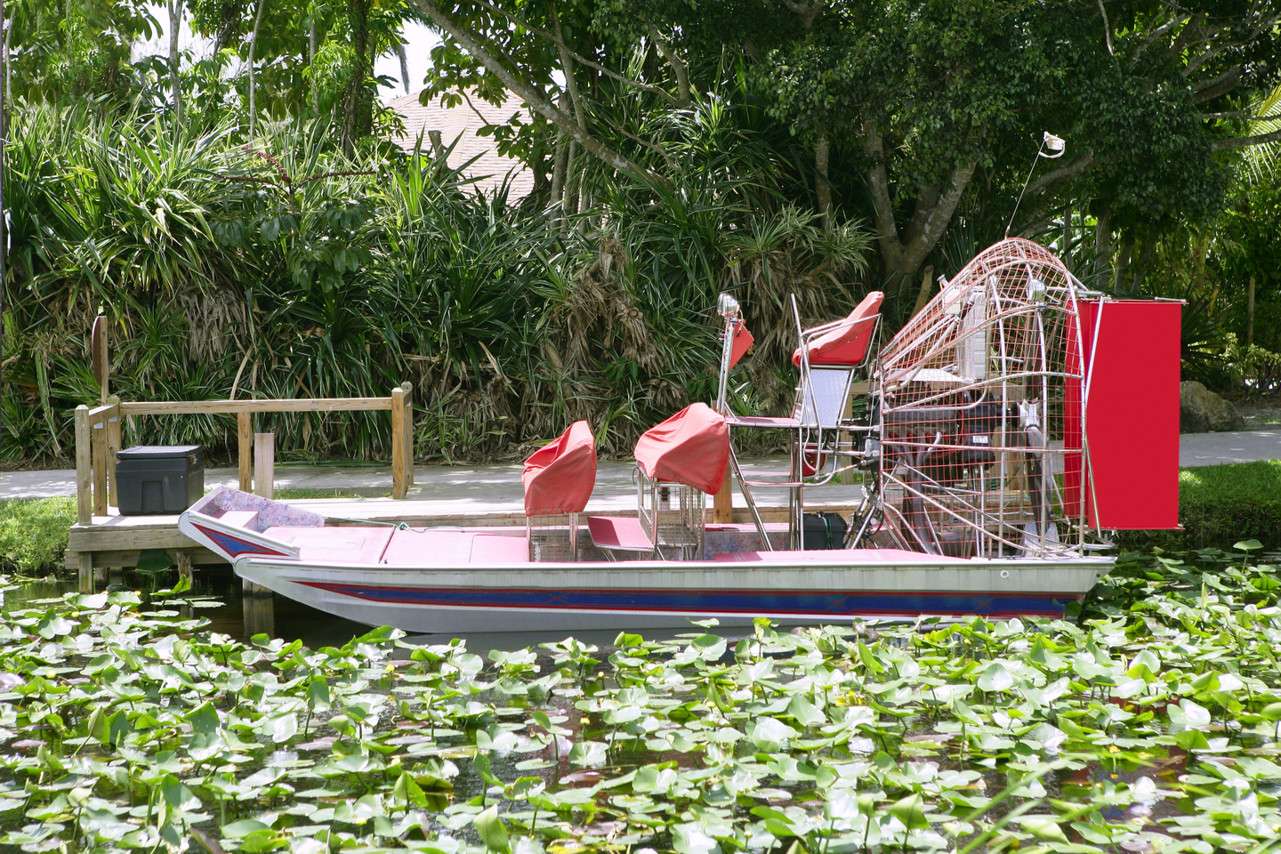 an airboat