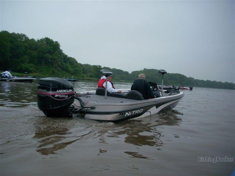 a bass boat