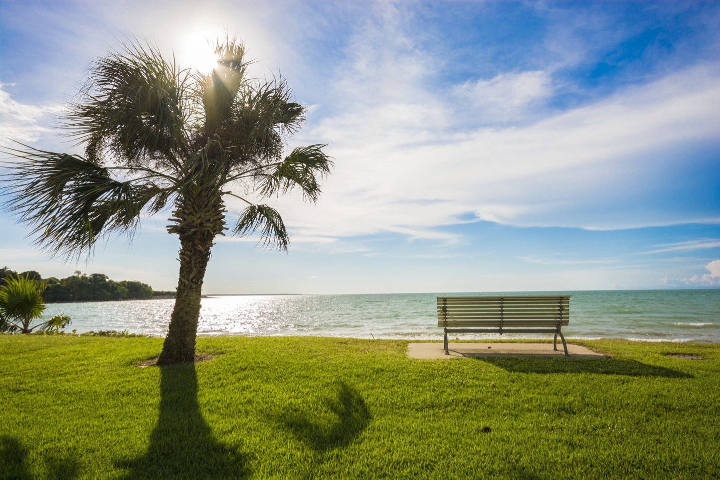 a view of the beach in Darwin