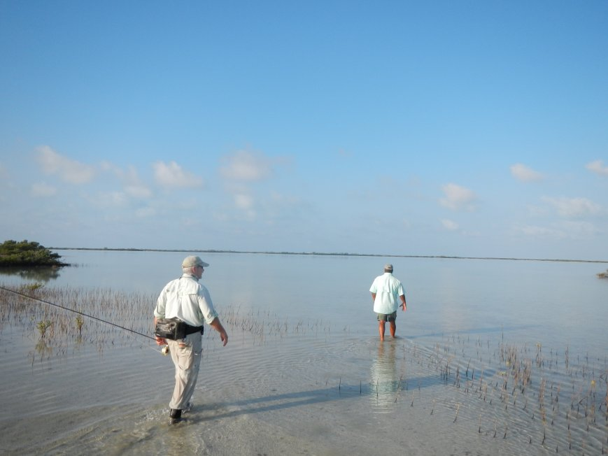 Permit Fishing on the flats