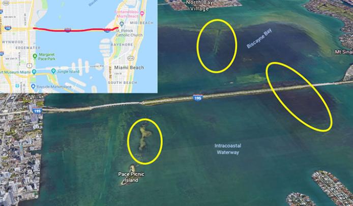 Julia Tuttle Causeway fishing spots