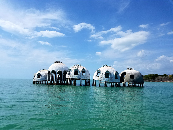Cape Romano Dome House near Marco Island