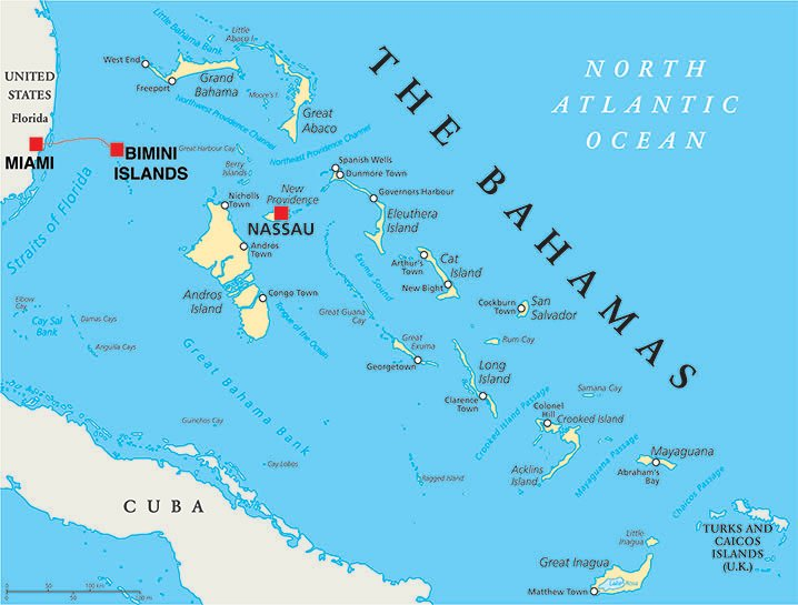 Map Of Bahamas And Florida From Florida to Bahamas By Boat: The Complete Guide