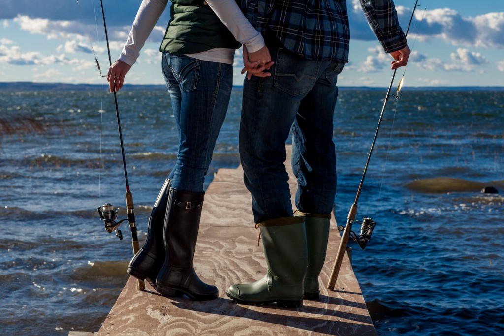 fishing with your girlfriend