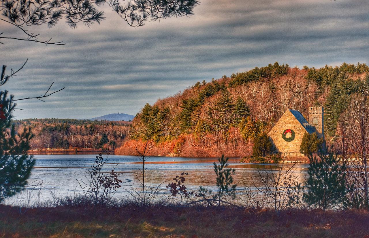 Wachusett Reservoir in Massachusetts