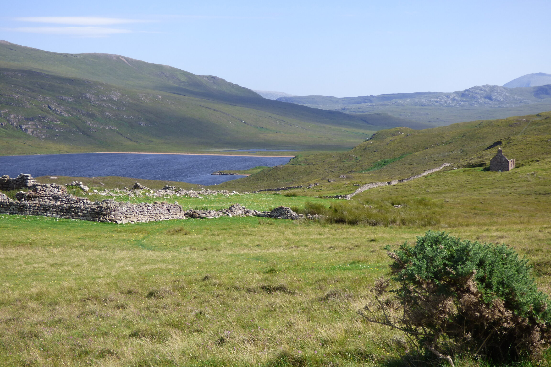 A loch in Scotland which is considered one of the haunted fishing destinations is nestled between the hills and plains