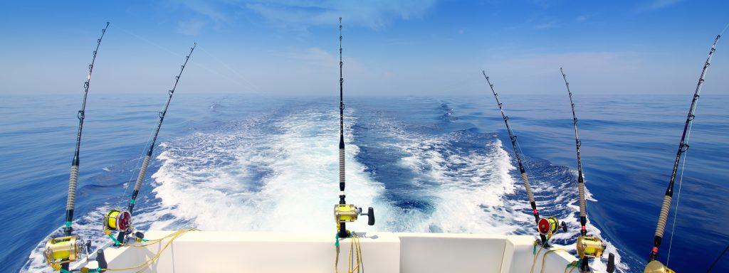BLUE MARLIN LIGHTER TROLLING FISHING BIG GAME BOAT SEA ROD REEL OFFSHORE PELAGIC