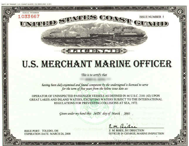 How to choose a fishing charter: USCG license
